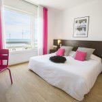 chambre double avec vue sur mer à Palavas les Flots