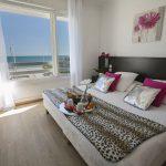 chambre d'hôtel Palavas avec vue sur mer