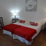 chambre double hôtel à Palavas les Flots