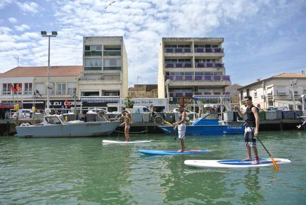 hôtel à palavas en bord de plage et ses activités